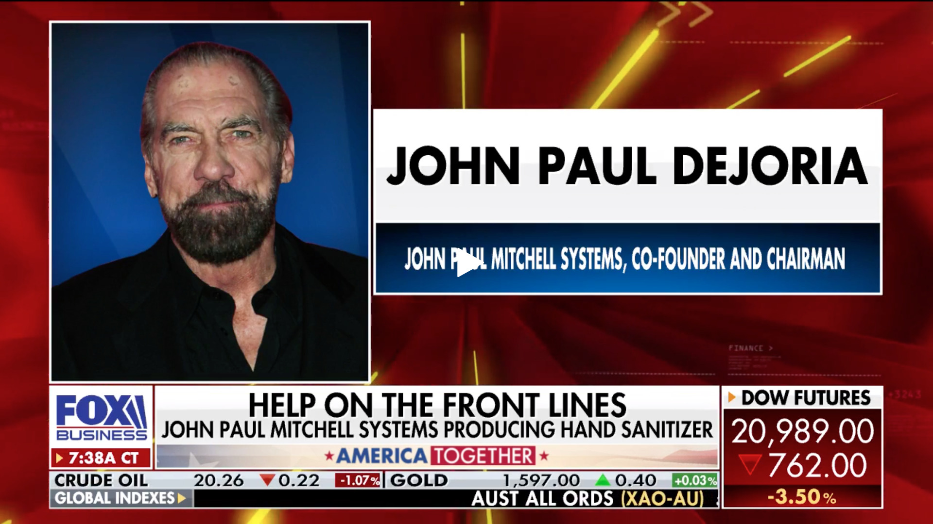 John Paul DeJoria on Fox Business